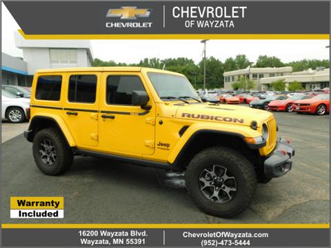 2019 Jeep Wrangler Unlimited for sale in Wayzata, MN