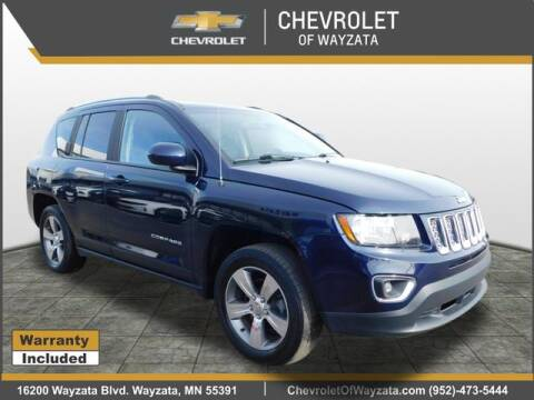 2017 Jeep Compass High Altitude for sale at Village Chevrolet in Wayzata MN