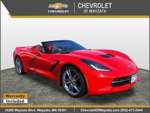 2016 Chevrolet Corvette Stingray for sale at Village Chevrolet in Wayzata MN
