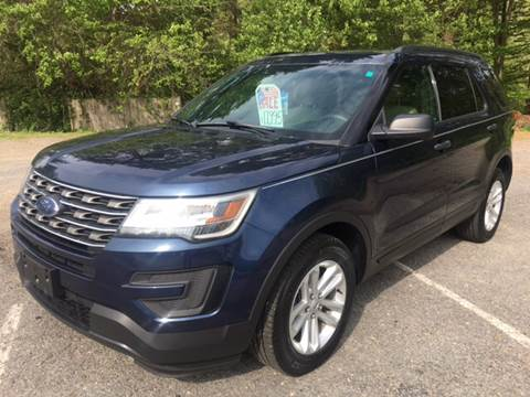2016 Ford Explorer for sale at Motuzas Automotive Inc. in Upton MA