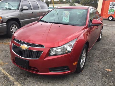 2014 Chevrolet Cruze for sale at Motuzas Automotive Inc. in Upton MA