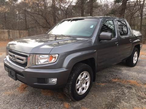2011 Honda Ridgeline for sale at Motuzas Automotive Inc. in Upton MA
