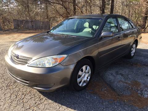 2004 Toyota Camry for sale at Motuzas Automotive Inc. in Upton MA