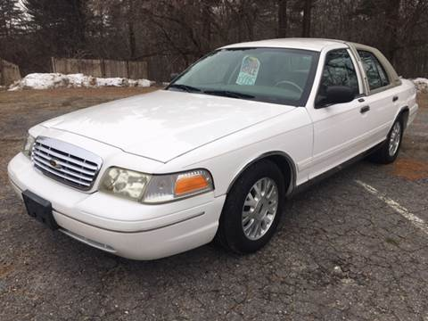 2004 Ford Crown Victoria for sale at Motuzas Automotive Inc. in Upton MA