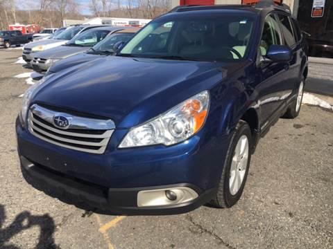 2011 Subaru Outback for sale at Motuzas Automotive Inc. in Upton MA