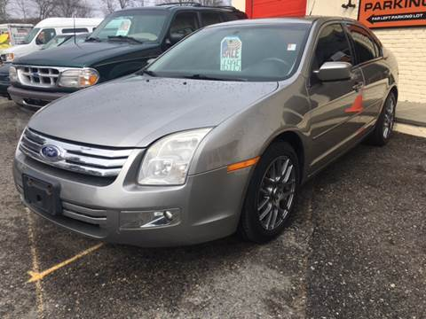 2008 Ford Fusion for sale at Motuzas Automotive Inc. in Upton MA