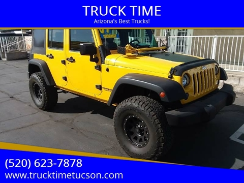 2009 Jeep Wrangler Unlimited for sale in Tucson, AZ