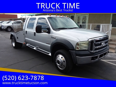 F550 For Sale >> 2007 Ford F 550 Super Duty For Sale In Tucson Az