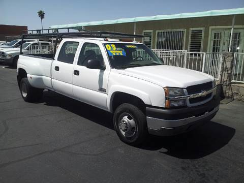 2003 Chevrolet Silverado 3500 for sale in Tucson, AZ