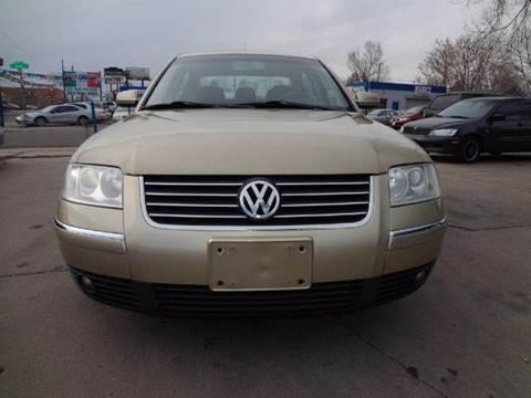 2002 Volkswagen Passat for sale at Modern Auto in Denver CO