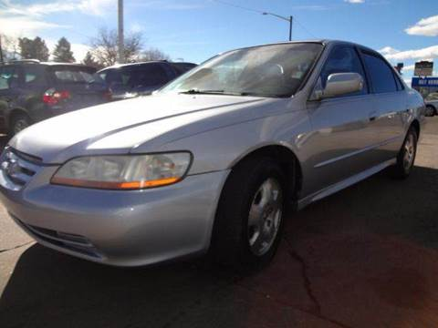 2002 Honda Accord for sale at Modern Auto in Denver CO