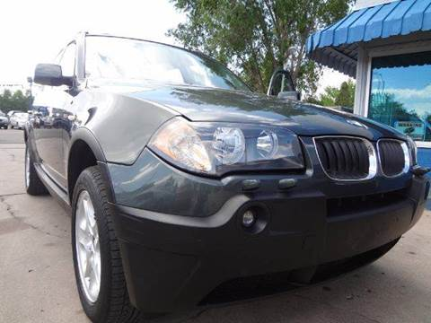 2004 BMW X3 for sale at Modern Auto in Denver CO