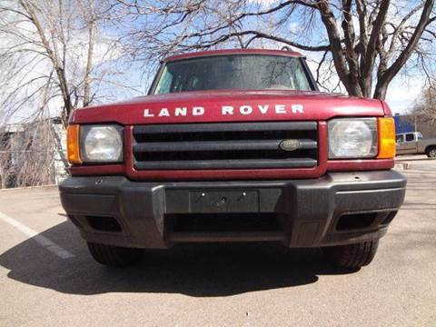 2000 Land Rover Discovery Series II for sale at Modern Auto in Denver CO