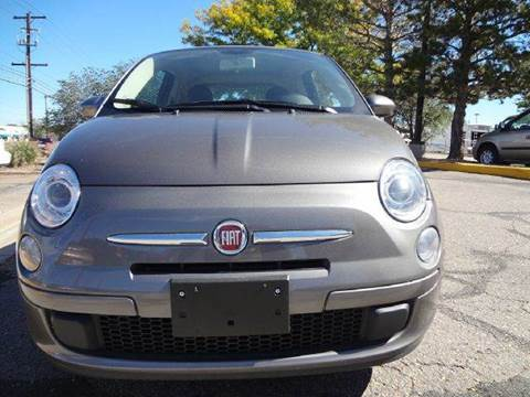 2013 FIAT 500 for sale at Modern Auto in Denver CO