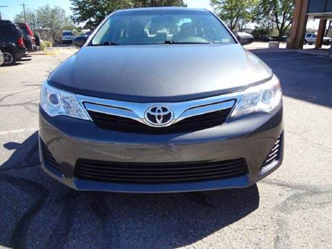 2012 Toyota Camry for sale at Modern Auto in Denver CO