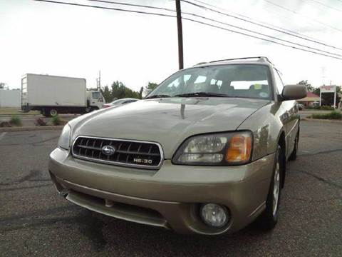 2003 Subaru Outback for sale at Modern Auto in Denver CO