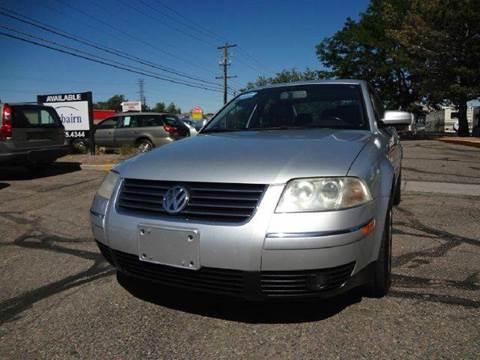 2003 Volkswagen Passat for sale at Modern Auto in Denver CO