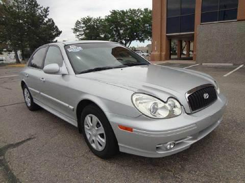 2003 Hyundai Sonata for sale at Modern Auto in Denver CO