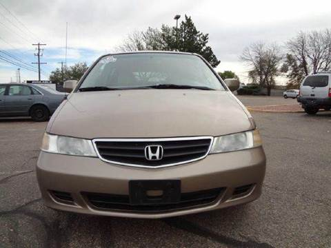 2003 Honda Odyssey for sale at Modern Auto in Denver CO