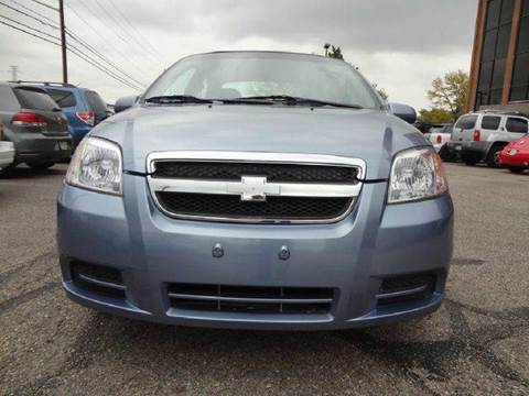 2007 Chevrolet Aveo for sale at Modern Auto in Denver CO