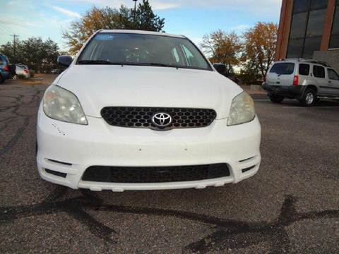 2004 Toyota Matrix for sale at Modern Auto in Denver CO