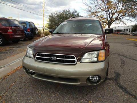 2002 Subaru Outback for sale at Modern Auto in Denver CO