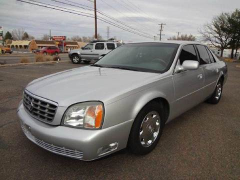 2002 Cadillac DeVille for sale at Modern Auto in Denver CO
