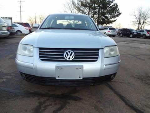 2004 Volkswagen Passat for sale at Modern Auto in Denver CO