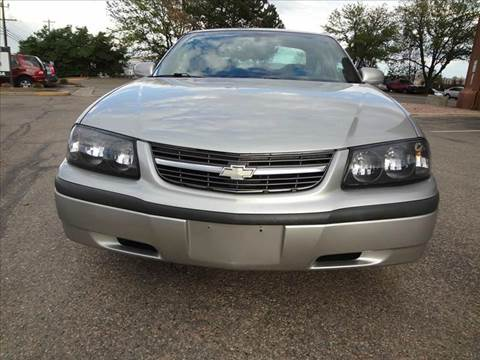 2005 Chevrolet Impala for sale at Modern Auto in Denver CO