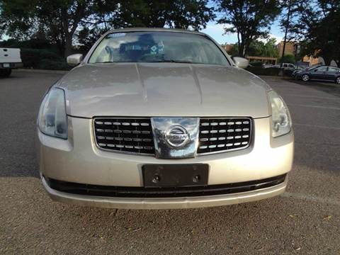 2005 Nissan Maxima for sale at Modern Auto in Denver CO