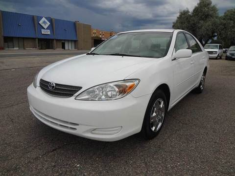 2002 Toyota Camry for sale at Modern Auto in Denver CO