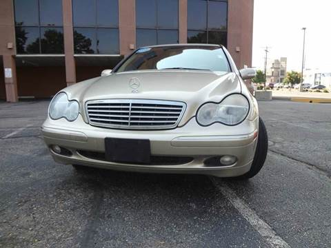 2003 Mercedes-Benz C-Class for sale at Modern Auto in Denver CO