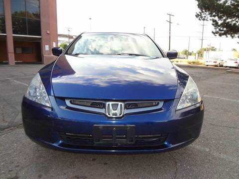 2004 Honda Accord for sale at Modern Auto in Denver CO