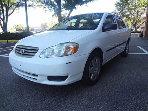 2003 Toyota Corolla for sale at Modern Auto in Denver CO