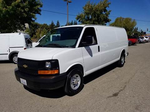 2013 Chevrolet Express Cargo for sale at Performance Motors in Livermore CA