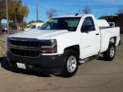 2016 Chevrolet Silverado 1500 for sale at Performance Motors in Livermore CA