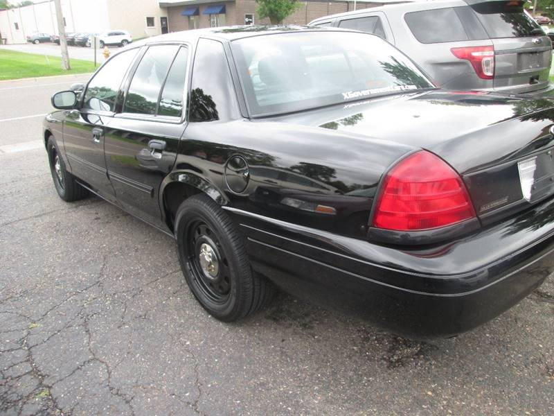 2010 Ford Crown Victoria Police Interceptor 4dr Sedan (3.27 Axle) - Golden Valley MN