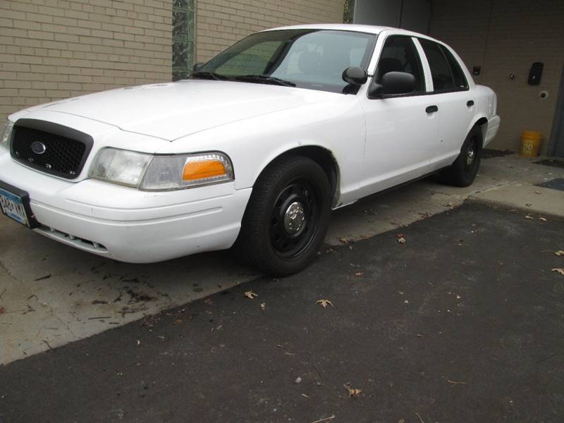 2008 Ford Crown Victoria Police Interceptor 4dr Sedan (3.27 Axle) In ...