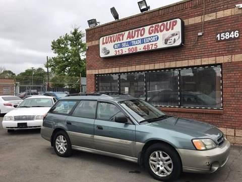 2002 Subaru Outback for sale in Detroit, MI