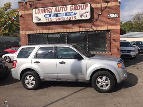 2010 Ford Escape for sale in Detroit, MI