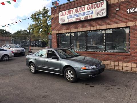 2004 Oldsmobile Alero for sale in Detroit, MI