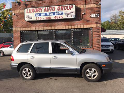 2004 Hyundai Santa Fe for sale in Detroit, MI