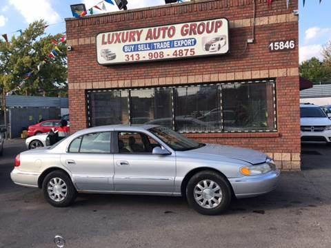 2002 Lincoln Continental for sale in Detroit, MI