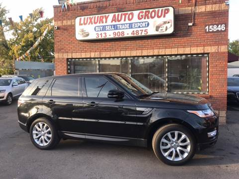 2014 Land Rover Range Rover Sport for sale in Detroit, MI