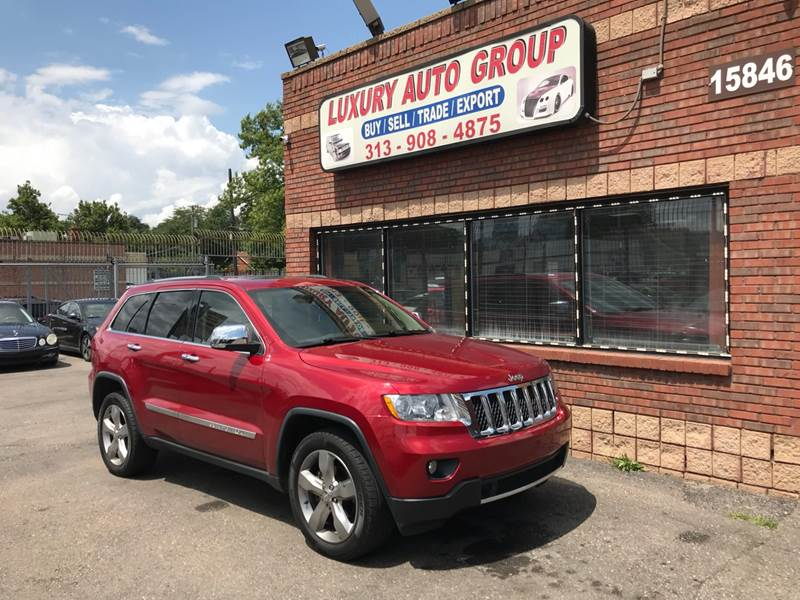 2011 Jeep Grand Cherokee For Sale At Luxury Auto Group In Detroit MI