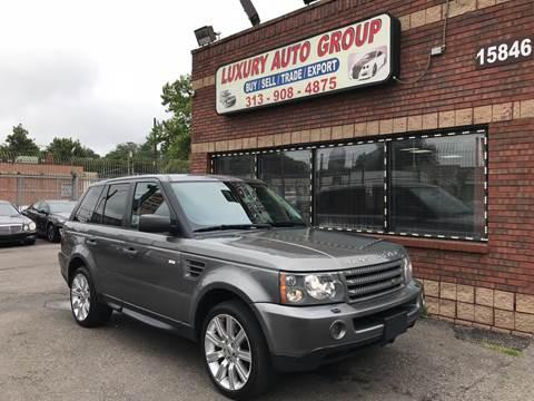 2009 Land Rover Range Rover Sport for sale in Detroit, MI