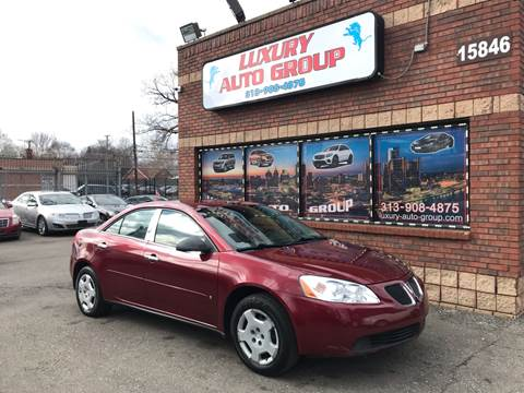2008 Pontiac G6 for sale in Detroit, MI