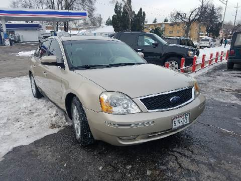 2006 Ford Five Hundred for sale at Nationwide Auto Group in Melrose Park IL