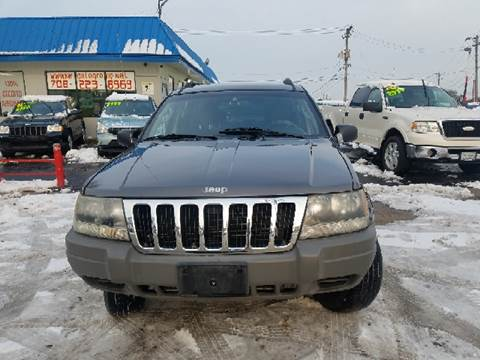 2002 Jeep Grand Cherokee for sale at Nationwide Auto Group in Melrose Park IL