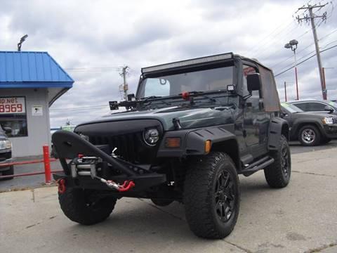 1999 Jeep Wrangler for sale in Melrose Park, IL